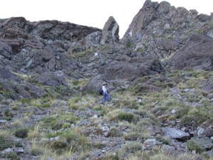 Andy on Outcrops
