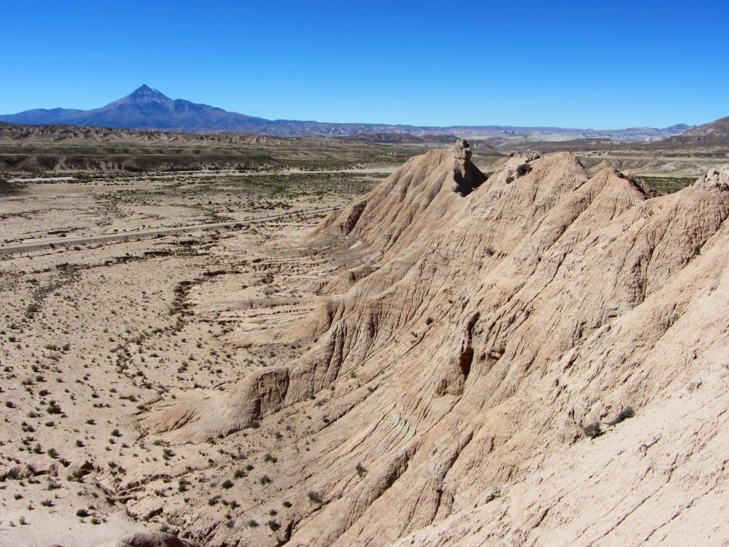 Cerdas beds and Cerro Chorolque